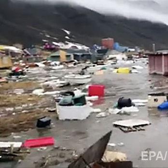 Цунамі налетіло на Гренландію, чотири людини пропали безвісти