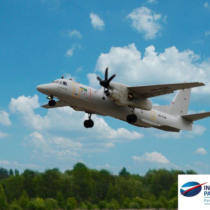 Український Ан-132D тріумфально виступив на авіашоу у Франції (відео)