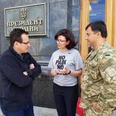 Нардеп від Самопомочі Тарас Пастух приєднався до голодування Березюка і Сироїд