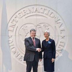 Порошенко обговорив із Лагард пенсійну реформу і перспективи приватизації