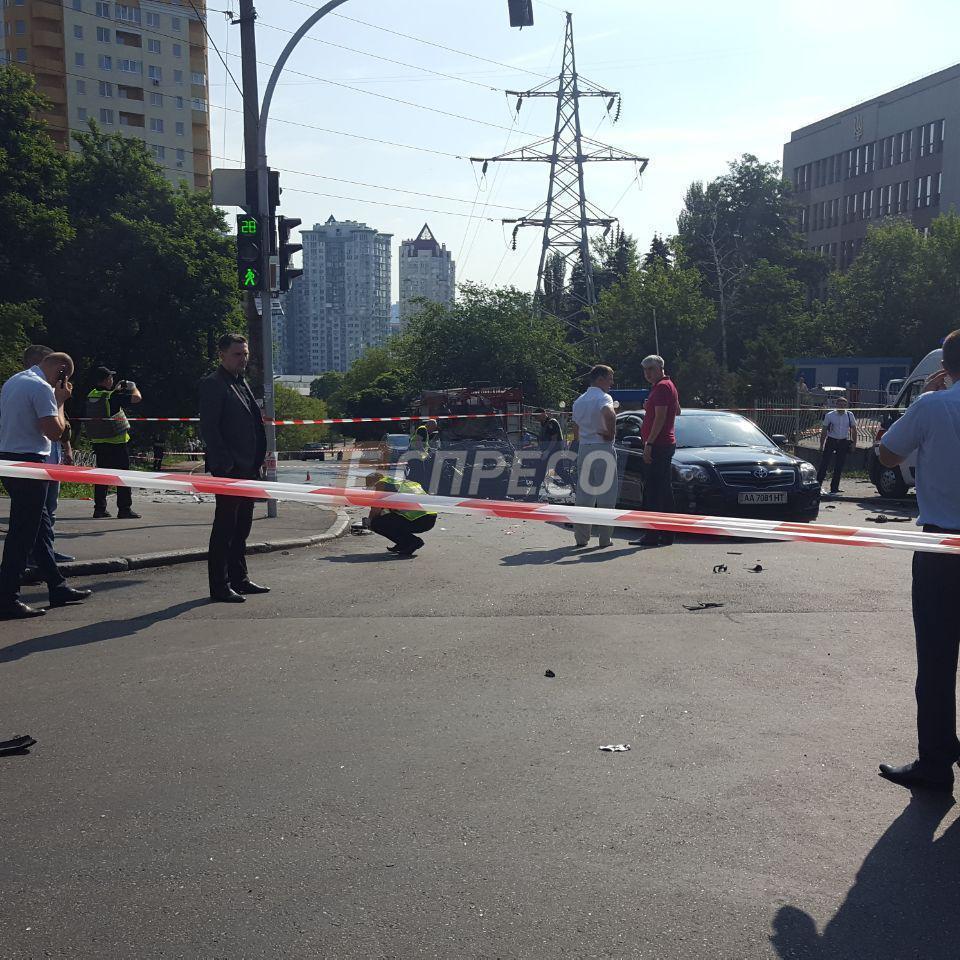 Підрив авто у Києві: загинув військовий АТО, це був спланований теракт