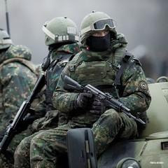 Спецназівці у Києві святкують 25 років із дня заснування