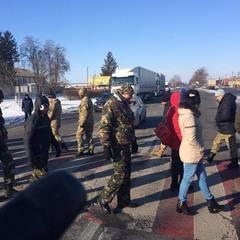 Бійка ветеранів АТО з поліцією на Кіровоградщині. Відео