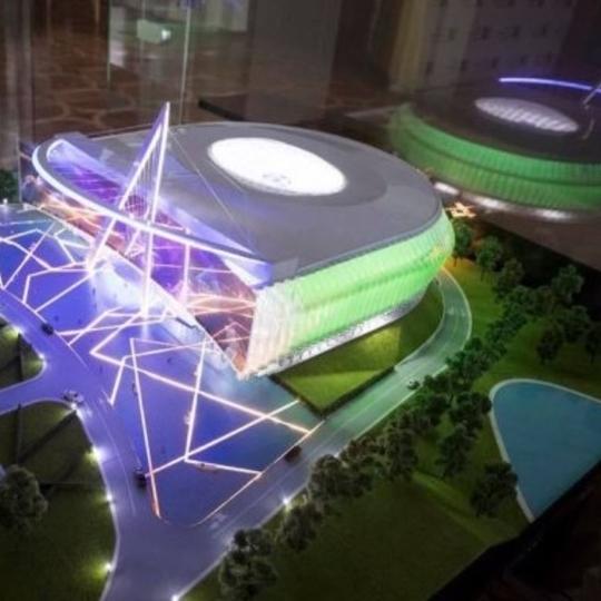 В Києві побудують стадіон-трансформер (фото)