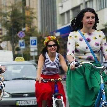 У Києві відбудеться шикарний дівчачий велопарад