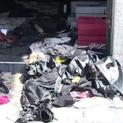 У Вінниці невідомі на мотоциклі підірвали магазин (фото, відео)