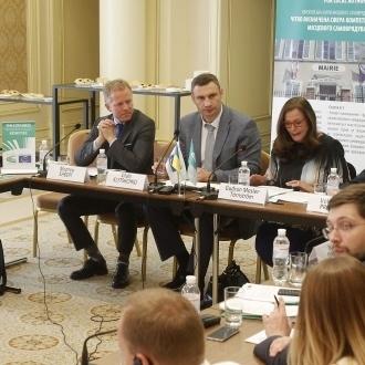 Віталій Кличко взяв участь у відкритті круглого столу, організованого Конгресом місцевих і регіональних влад Ради Європи