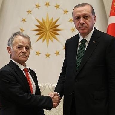 Джемілєв у Туреччині зустрівся з Ердоганом