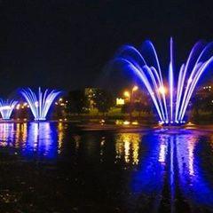 Сьогодні вперше за п'ять років на Русанівці запрацюють 12  фонтанів