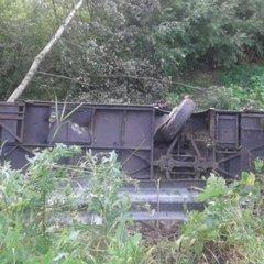 Страшна аварія на Тернопільщині: автобус з туристами з'їхав в урвище та перекинувся
