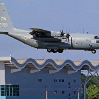 В Одесі приземлились літаки НАТО (фото)