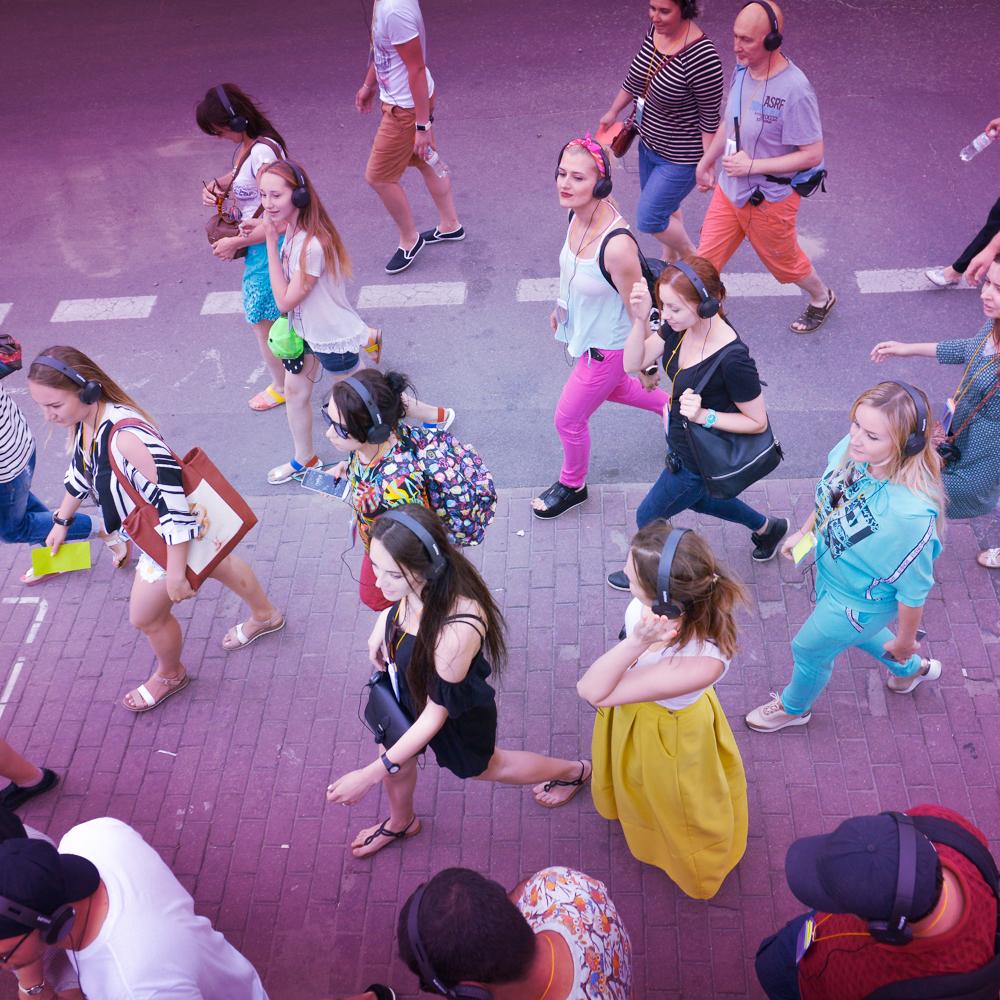 Глядачів нової вистави в Києві водитимуть містом з навушниками