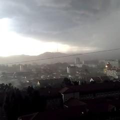 Негода знову накрила Львів (відео)