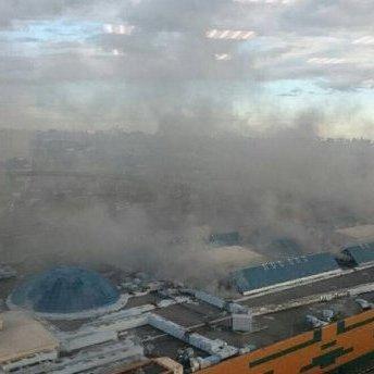 У торговому центрі «РІО» на північному сході Москви спалахнула пожежа, йде евакуація (відео)