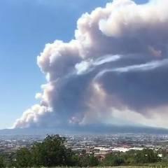 В Італії палають схили Везувія (фото, відео)