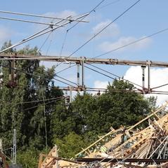 В Швеції обвалився залізничний міст: 12 постраждалих (фото)