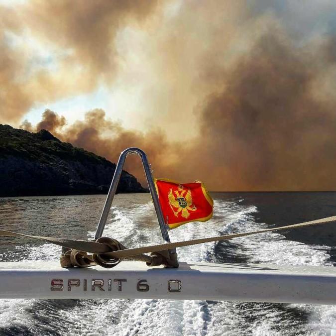 У Чорногорії горять ліси, евакуйовано один із курортів (фото)