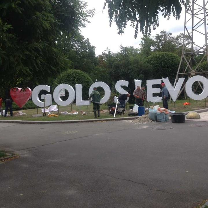 Зеленбудівці створили селфі-зону в Голосіївському парку (фото)