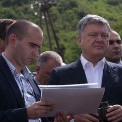 Президент України ініціював співпрацю із Грузією у перекачці газу по «Шовковому шляху»