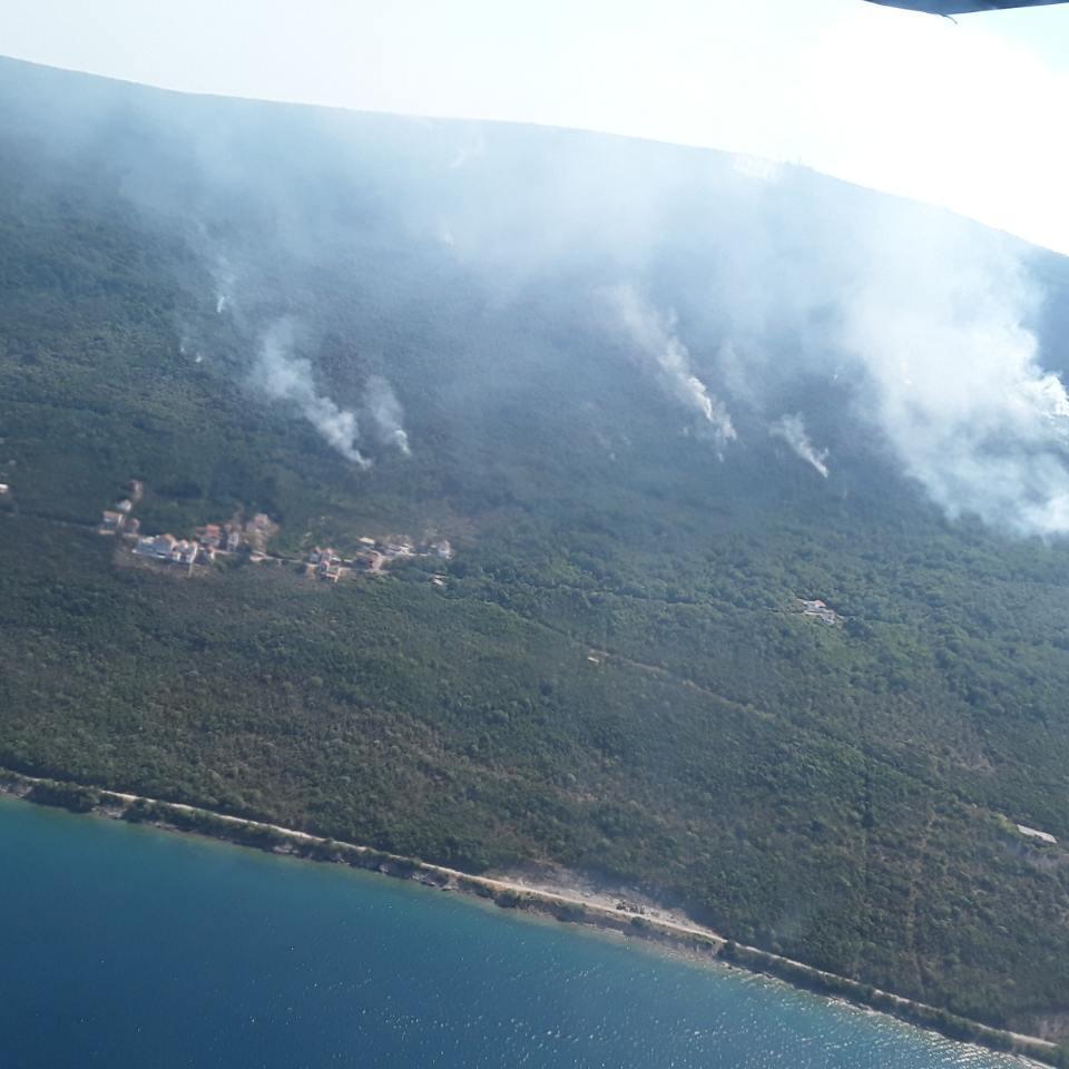 У Чорногорії досі палають ліси: українські рятувальники показали, як гасять пожежі (фото, відео)