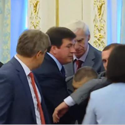 Під час виступу Лукашенка в Києві член української делегації знепритомнів