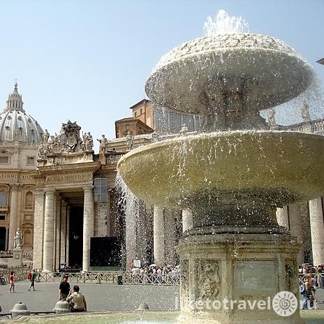 Вперше в історії у Ватикані вимкнули історичні фонтани