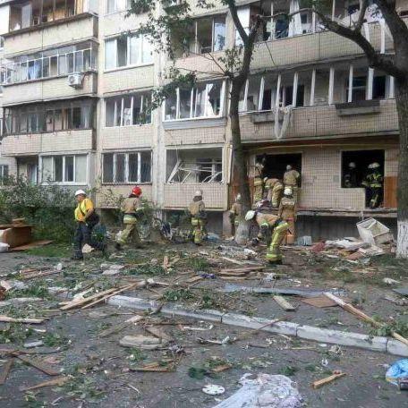 За фактом вибуху будинку в Києві розпочато кримінальну справу