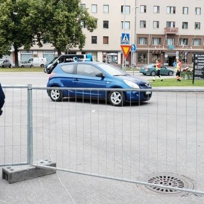 У фінському місті людей просять не виходити на балкони під час візиту Путіна