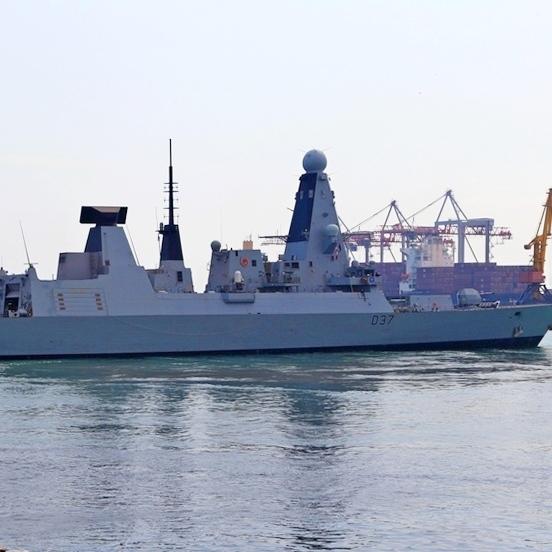 У Чорному морі українські ВМС спільно з кораблями Великої Британії, Туреччини та Румунії проводять тренування