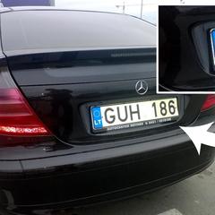 Суди почали штрафувати власників авто на литовських номерах