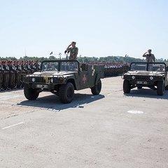 Нацгвардійці готуються до військового параду до Дня Незалежності (фото, відео)