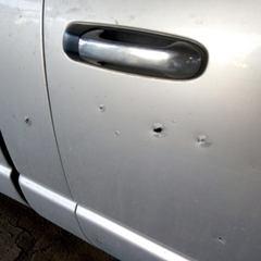 На Миколаївщині вибух гранати у дворі приватного будинку пошкодив два автомобілі (фото)