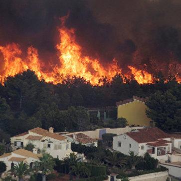 Пожежа в Іспанії менш ніж за добу охопила понад тисячу гектарів, влада закрила дороги (фото, відео)