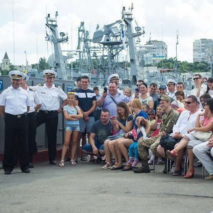 Зеленський, Кошовий і Казанін відвідали фрегат «Гетьман Сагайдачний» (фото)