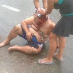 На Миколаївщині невідомі зі зброєю напали на водія (відео)