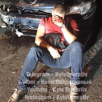 У Києві п'яний водій скоїв одразу 4 ДТП (фото)