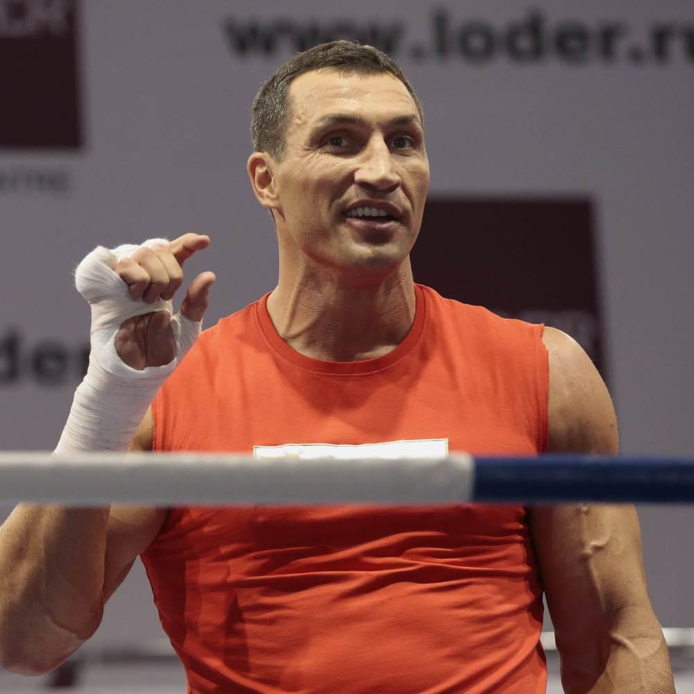 Володимир Кличко після завершення спортивної кар'єри подався у викладачі (фото)