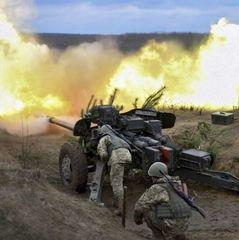 Звіт із території зони АТО: трьох українських військових поранено, один травмований
