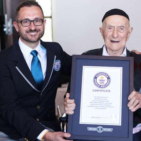 В Ізраїлі у віці 113 років помер найстаріший чоловік на планеті