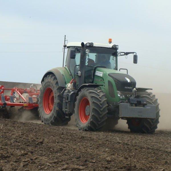 На Донеччині трактор підірвався на міні
