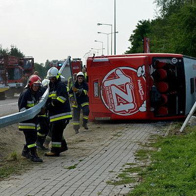 В Польщі перекинувся пасажирський автобус: є постраждалі
