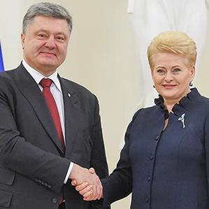 В Адміністрації Президента спростували інформацію про зрив зустрічі Порошенка із Грібаускайте
