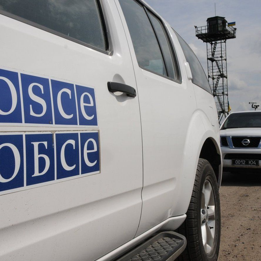 Місія ОБСЄ бачила на окупованому Донбасі найманців з відзнаками РФ