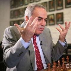 Каспаров зазнав першої поразки після повернення у шахи