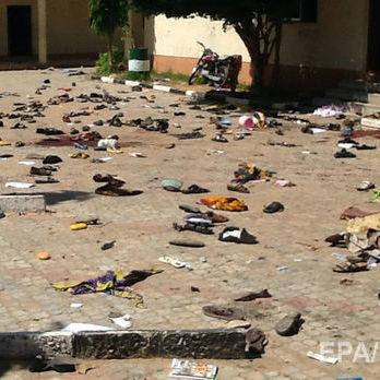 У Нігерії смертниця підірвала себе, 27 осіб загинуло, 83 дістало поранення