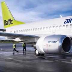Авіакомпанія airBaltic почне літати з Києва до Лісабона
