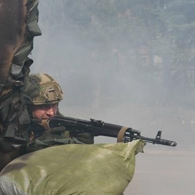 Штаб АТО: здебільшого противник використовував гранатомети та великокаліберні кулемети