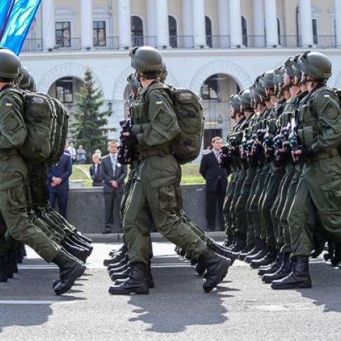 У Києві сьогодні ввечері перекриють Хрещатик через репетицію військового параду