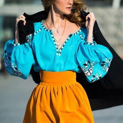 Із яким одягом гармонує традиційна українська вишиванка (фото)