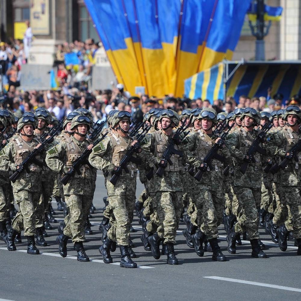 У столиці пройшла друга репетиція параду до Дня Незалежності (фото, відео)